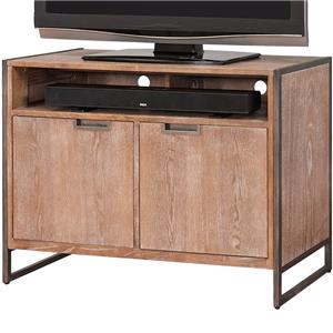 kathy ireland Home by Martin Belmont TV Stand with 2 Doors and Shelf