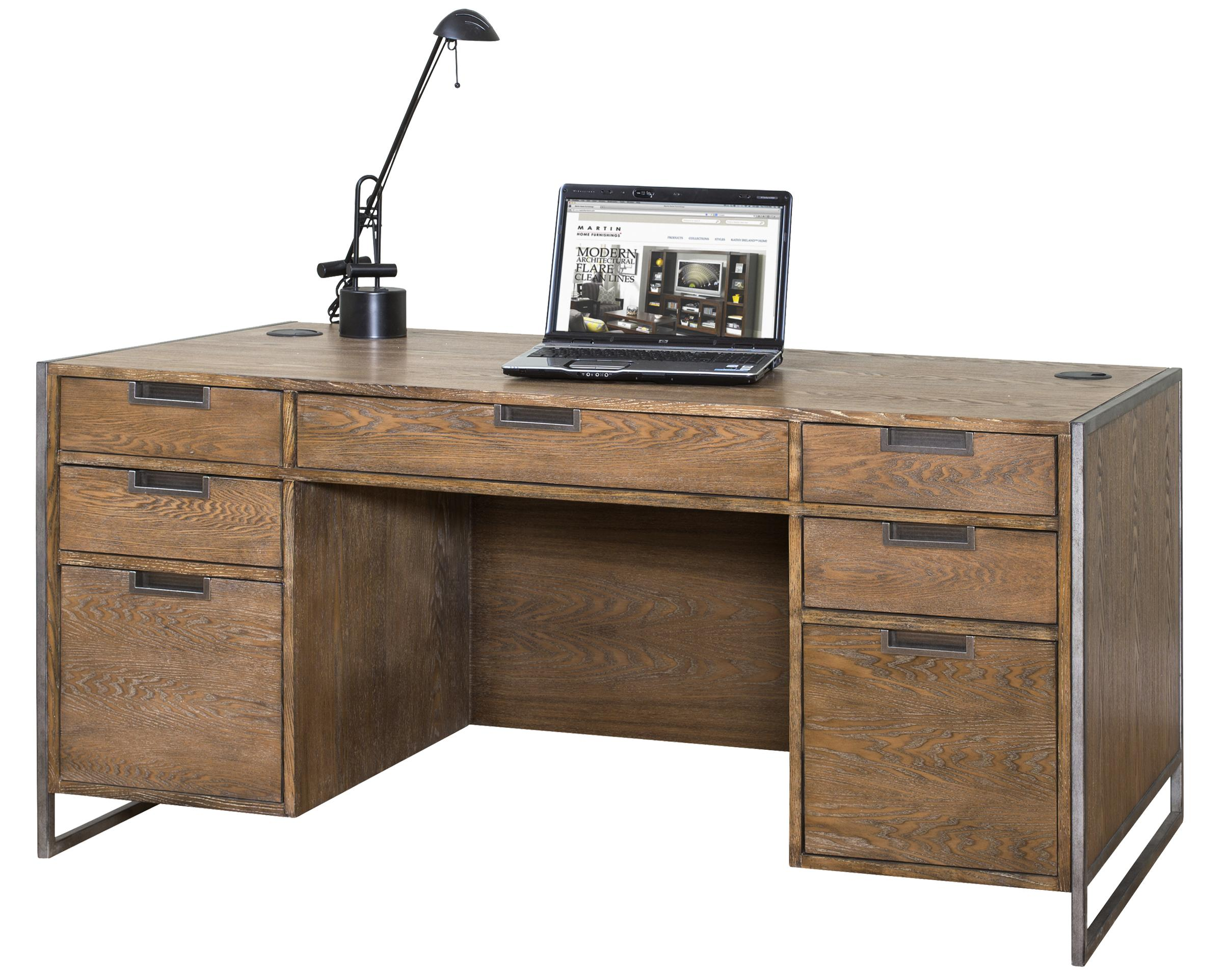 kathy ireland Home by Martin Belmont Desk - Item Number: IMBM680