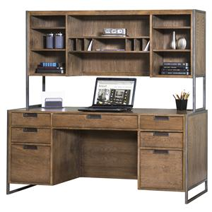 kathy ireland Home by Martin Belmont Desk and Hutch