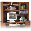 kathy ireland Home by Martin California Bungalow Organizer Hutch - Item Number: MO542-CB