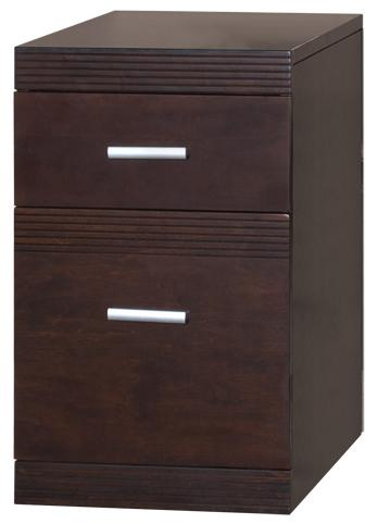 kathy ireland Home by Martin Carlton Rolling File Cabinet - Item Number: CN202