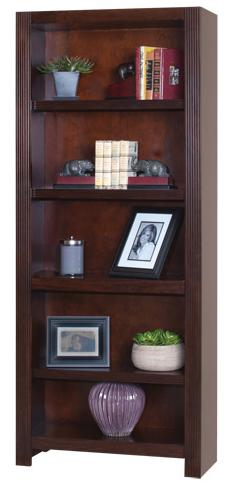 """kathy ireland Home by Martin Carlton 72"""" Bookcase - Item Number: CN3072"""