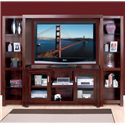 kathy ireland Home by Martin Carlton Wall Unit - Item Number: CN360+2x970+491BR