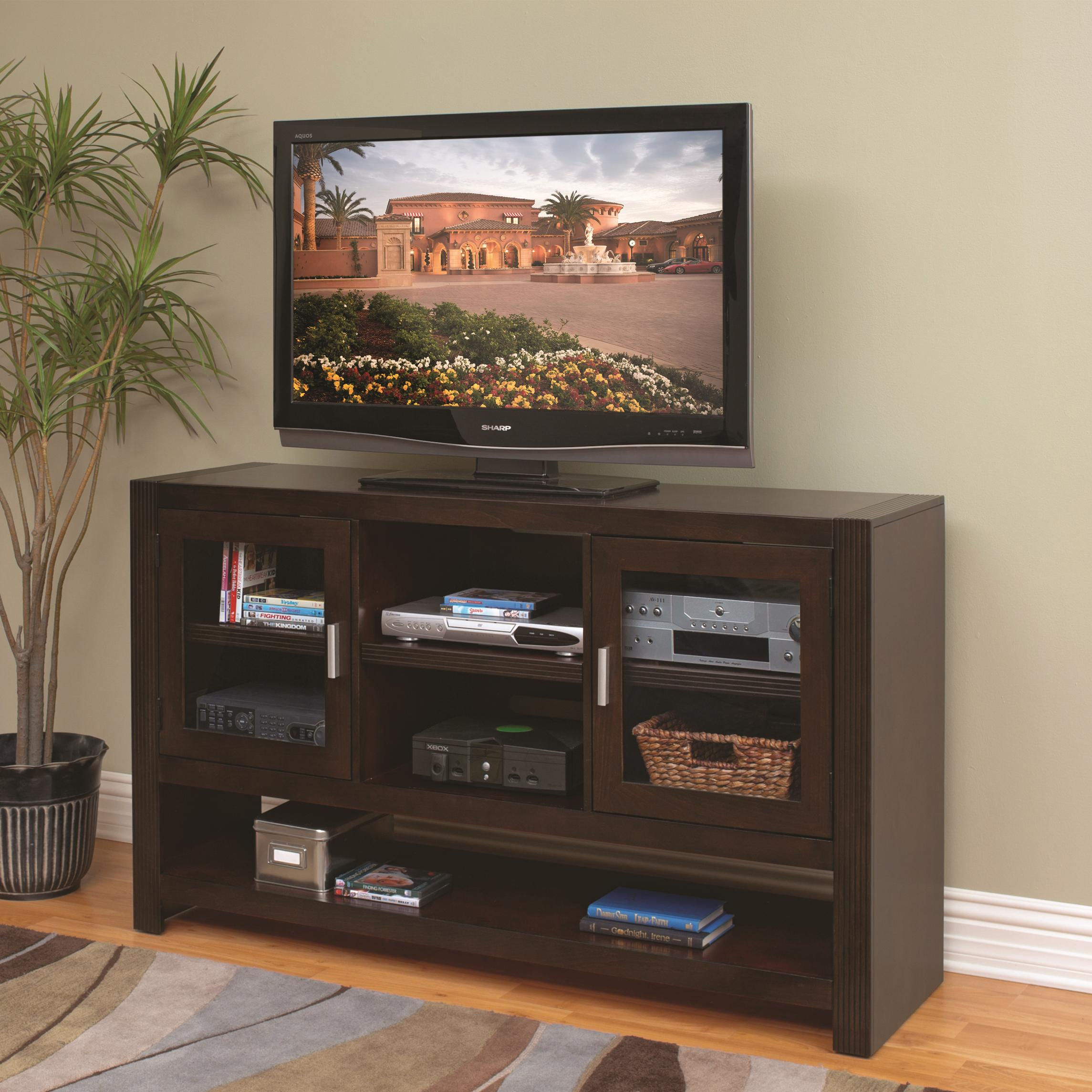 kathy ireland Home by Martin Carlton 36-Inch Tall TV Console - Item Number: CN365