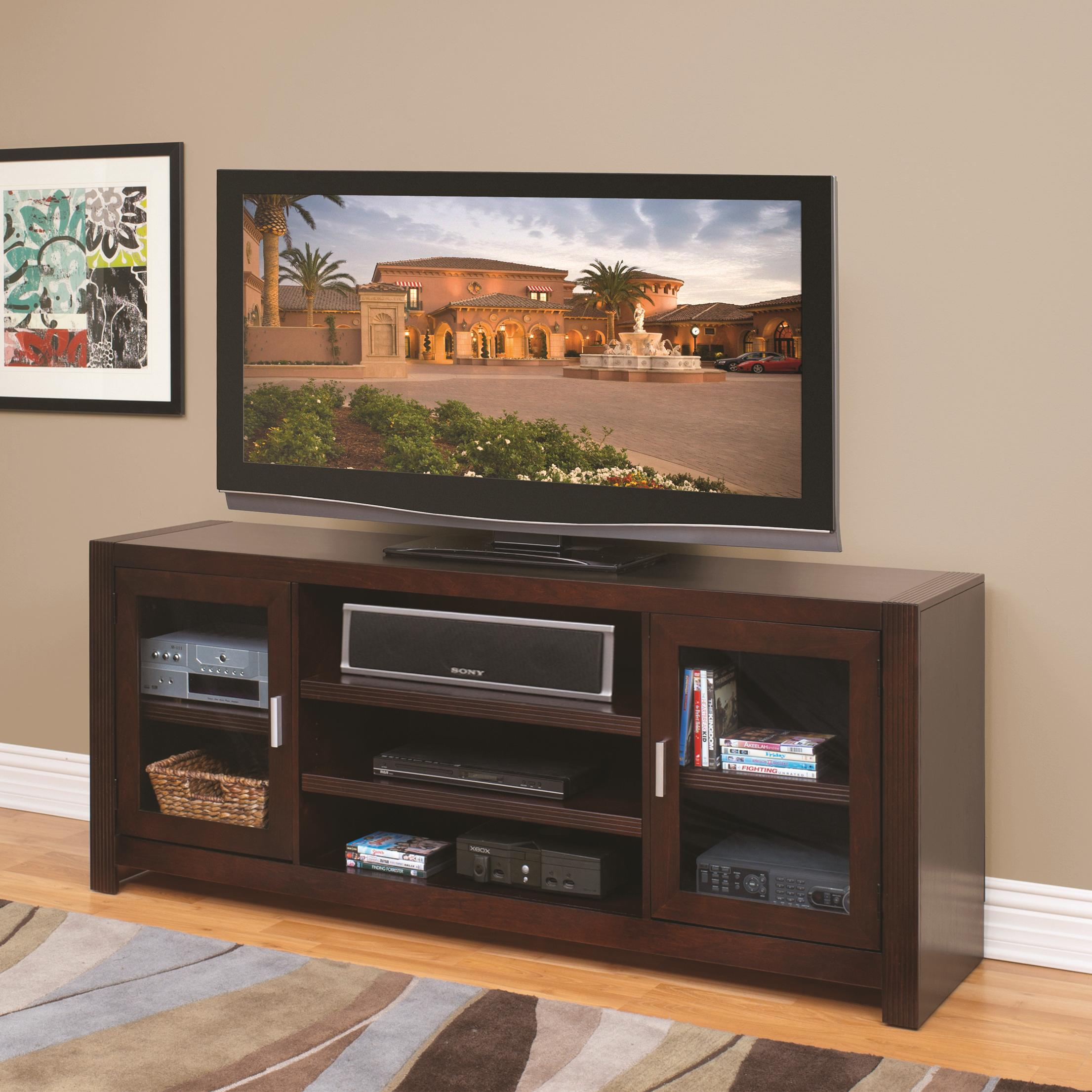 kathy ireland Home by Martin Carlton 72-Inch Wide TV Console - Item Number: CN370