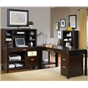 kathy ireland Home by Martin Carlton L Shape Desk - Item Number: CN387+55+382+384
