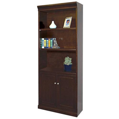 kathy ireland Home by Martin Fulton KIH Bookcase with Lower Doors - Item Number: FL3072D