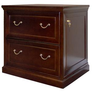 kathy ireland Home by Martin Fulton KIH Two Drawer Lateral File