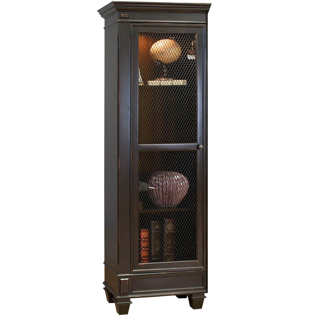 kathy ireland Home by Martin Hartford Left Facing Half Bookcase - Item Number: IMHF2476L
