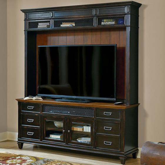 kathy ireland Home by Martin Hartford Wall Unit - Item Number: IMHF380+995