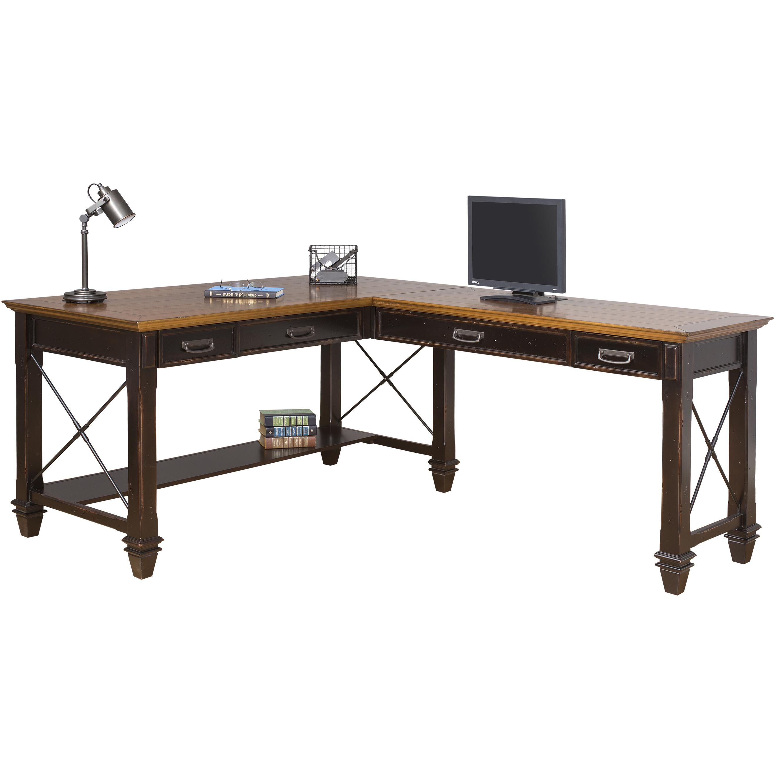 Right Hand Facing Open L Shaped Desk