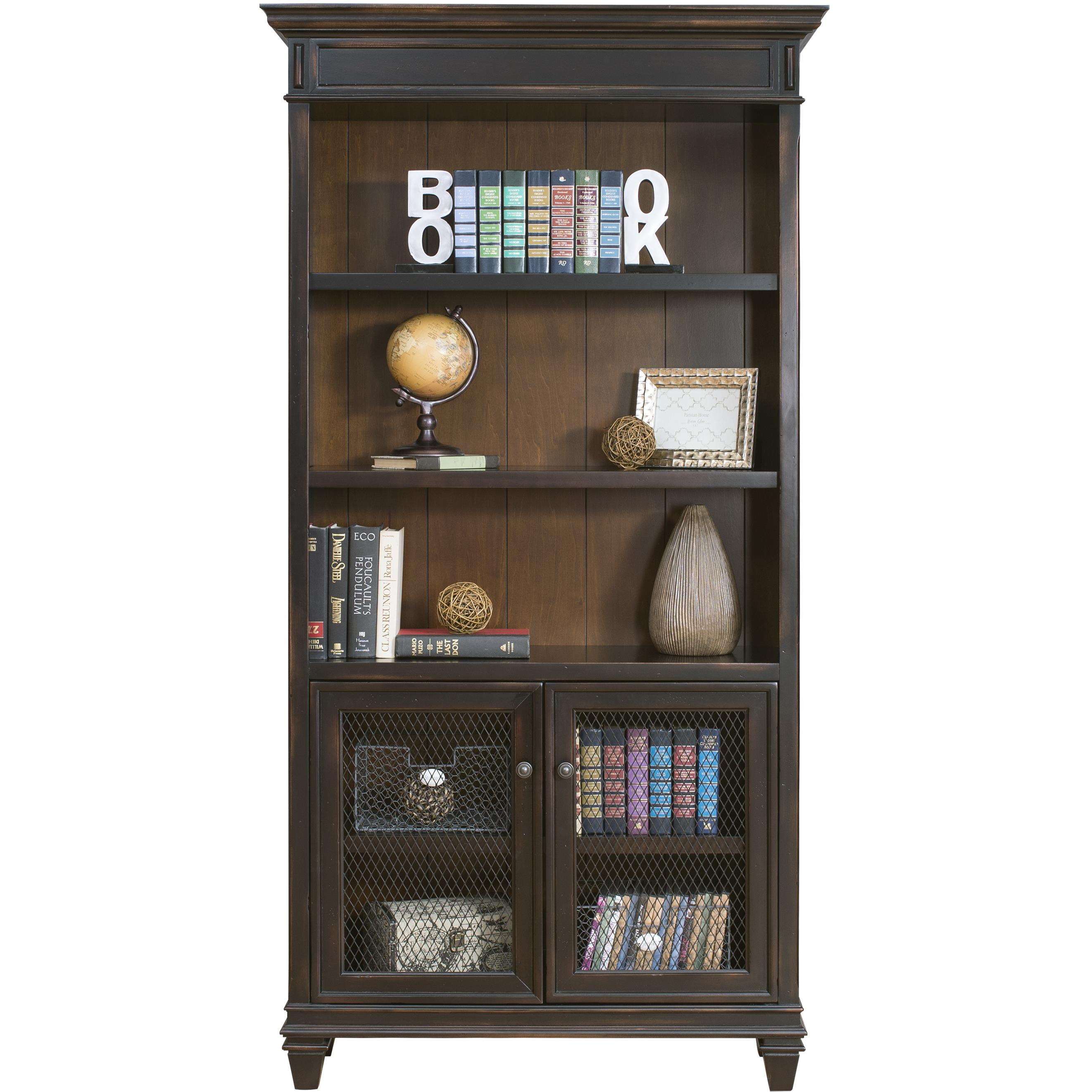 kathy ireland Home by Martin Hartford Bookcase - Item Number: IMHF4078D