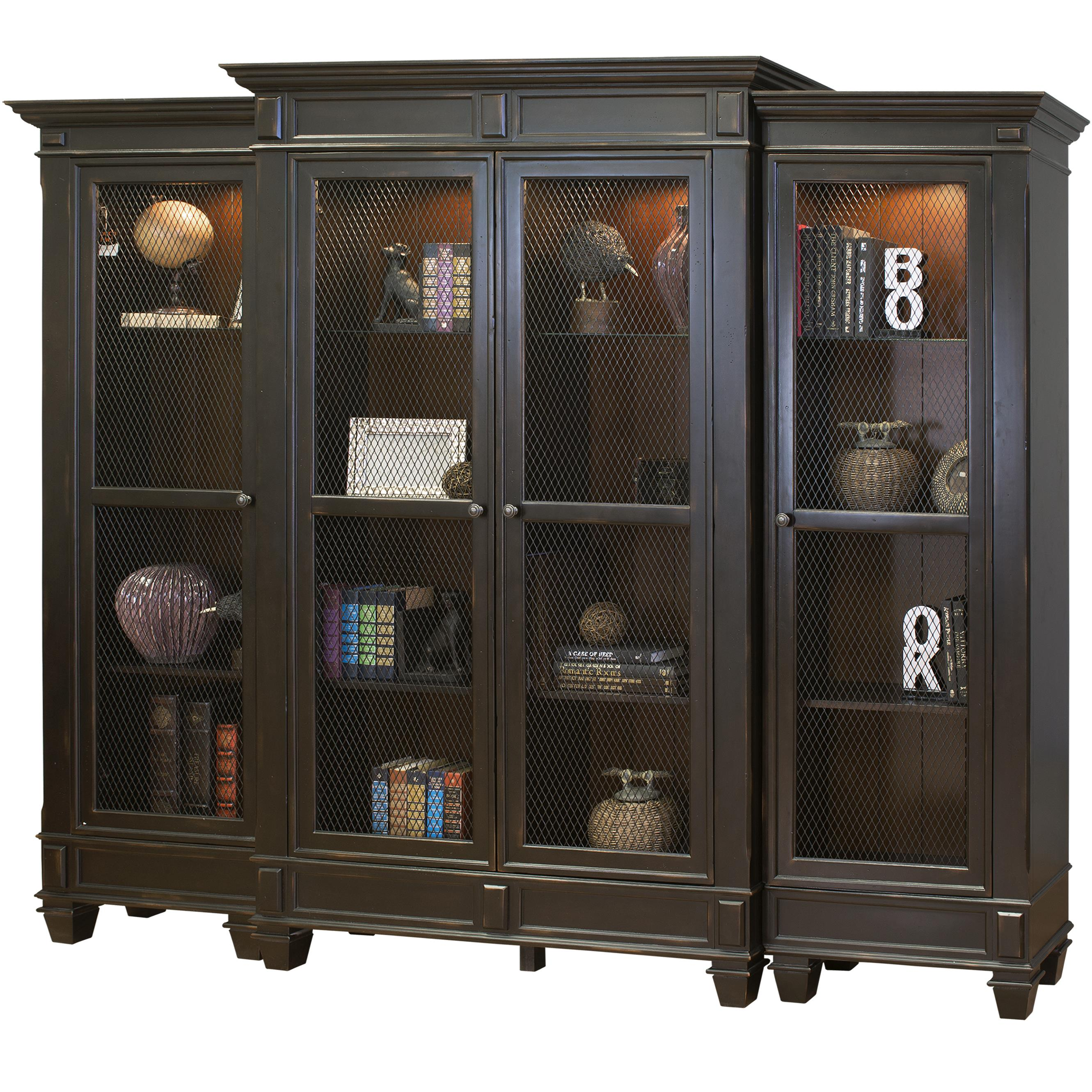kathy ireland Home by Martin Hartford Bookcase - Item Number: IMHF4878+2476L+2476R
