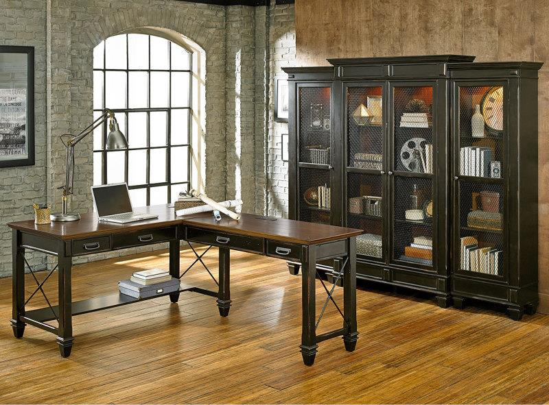 Kathy Ireland Home By Martin Hartford Bookcase With 6