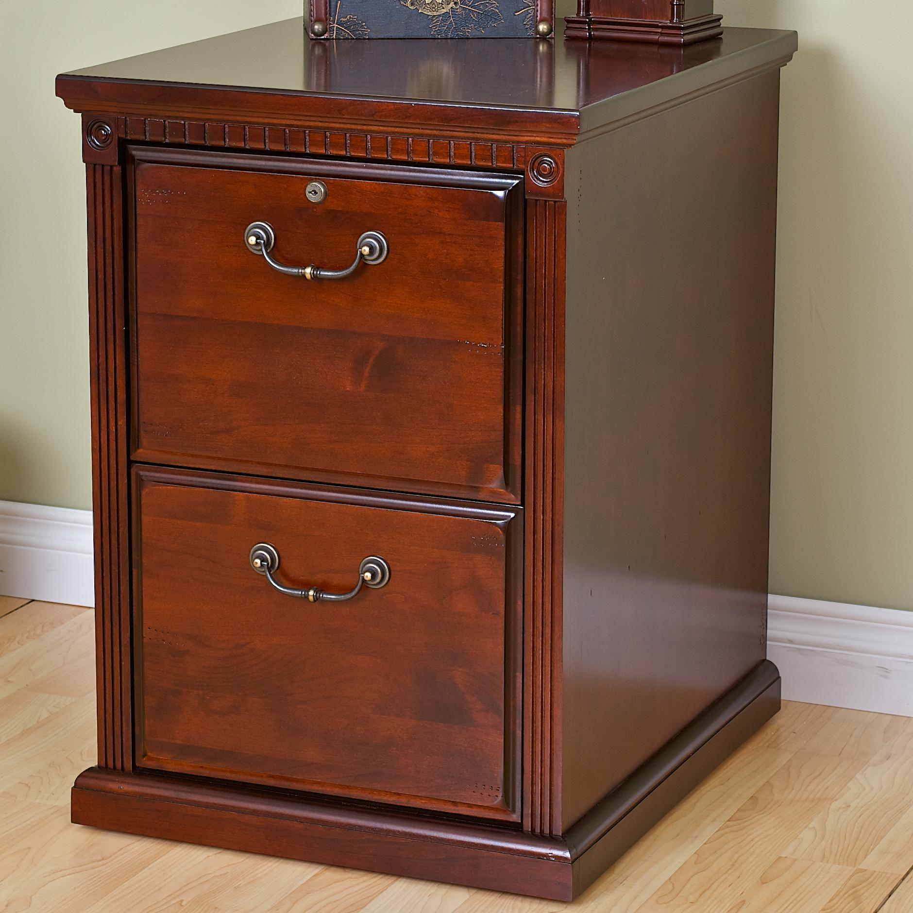 kathy ireland Home by Martin Huntington Club 2-Drawer File - Item Number: HCR201
