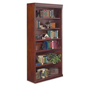 "kathy ireland Home by Martin Huntington Club 72"" Open Bookcase"