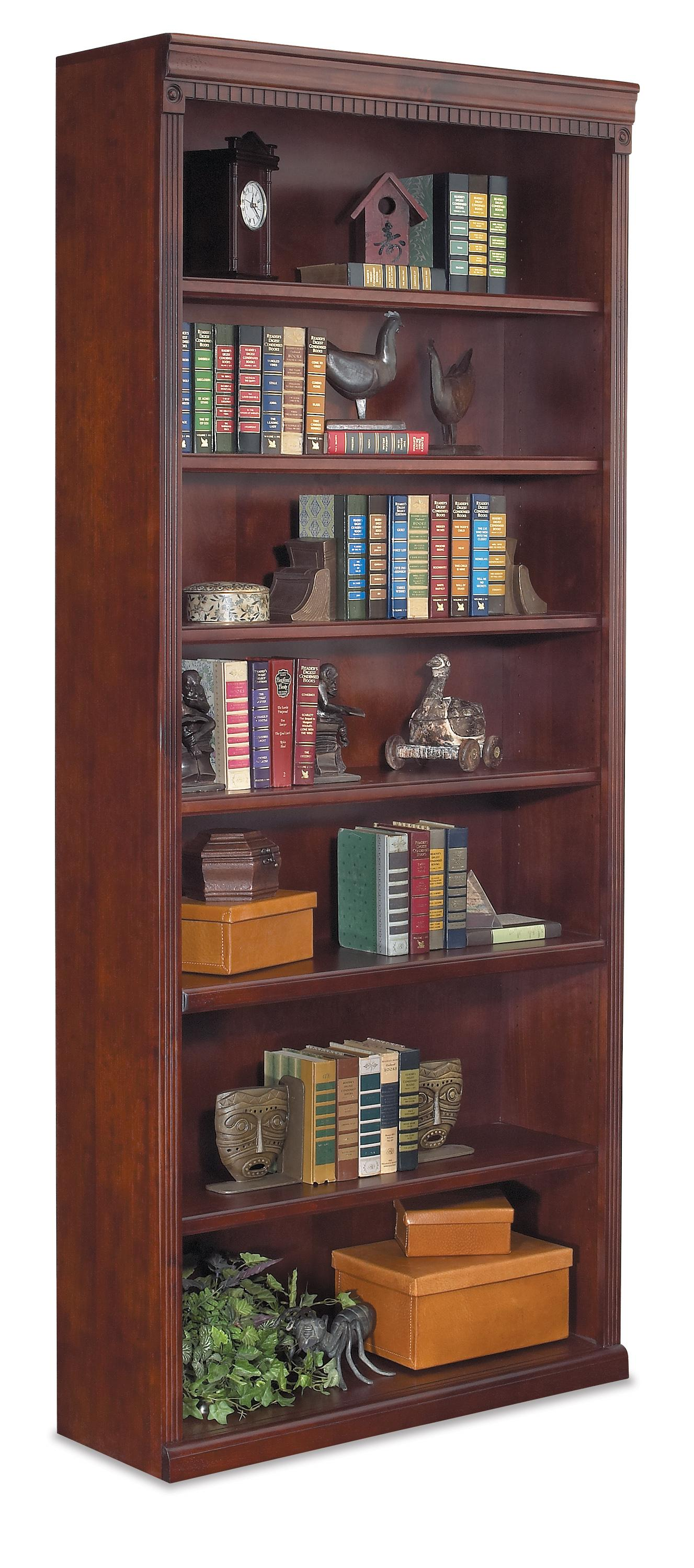 "kathy ireland Home by Martin Huntington Club 84"" Open Bookcase - Item Number: HCR3684"