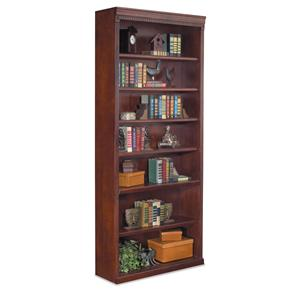 "kathy ireland Home by Martin Huntington Club 84"" Open Bookcase"