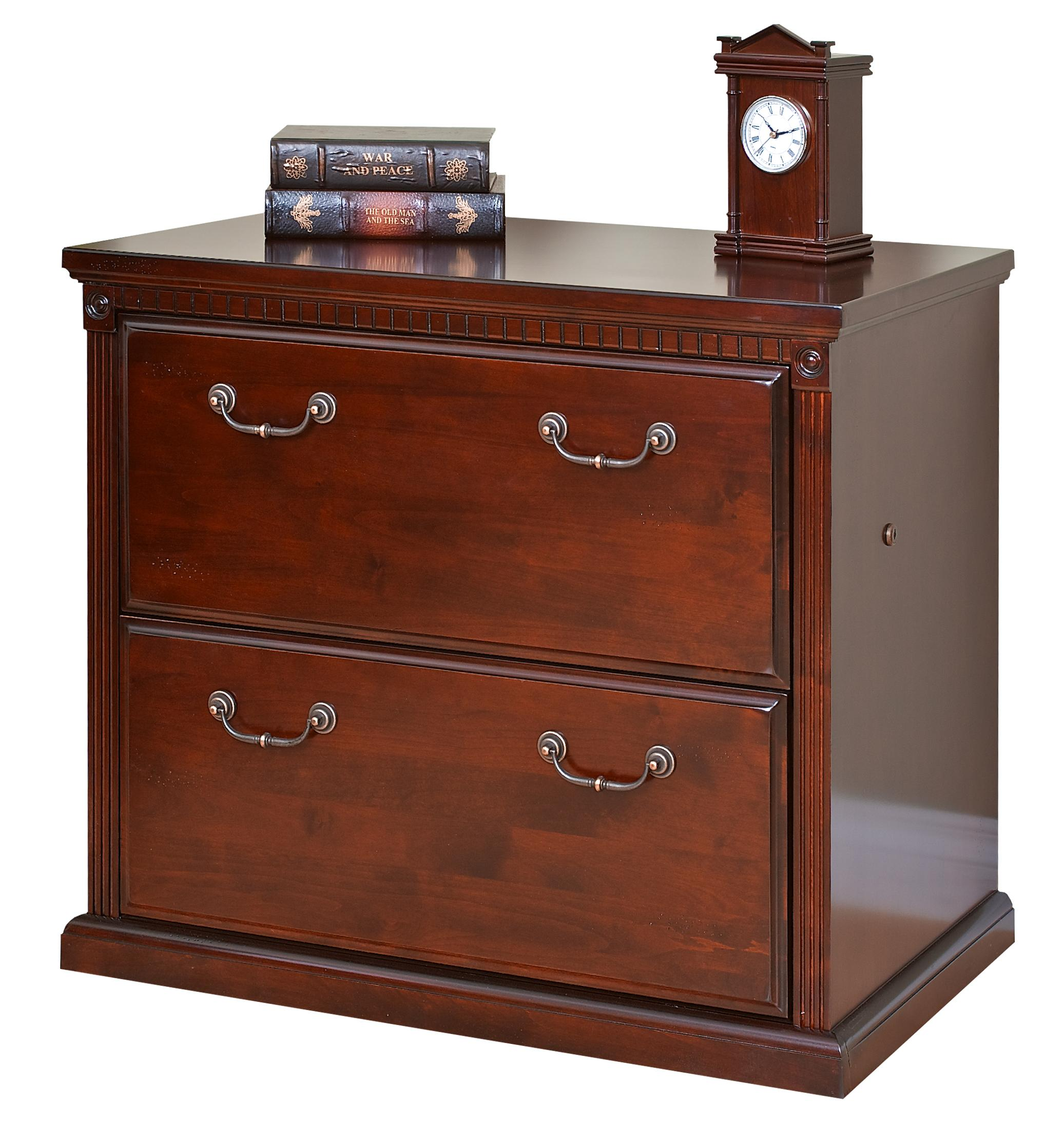 kathy ireland Home by Martin Huntington Club Two Drawer Lateral File Cabinet - Item Number: HCR450