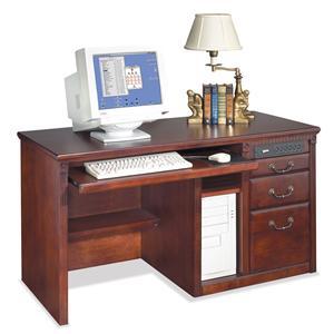 kathy ireland Home by Martin Huntington Club Three Drawer Computer Desk