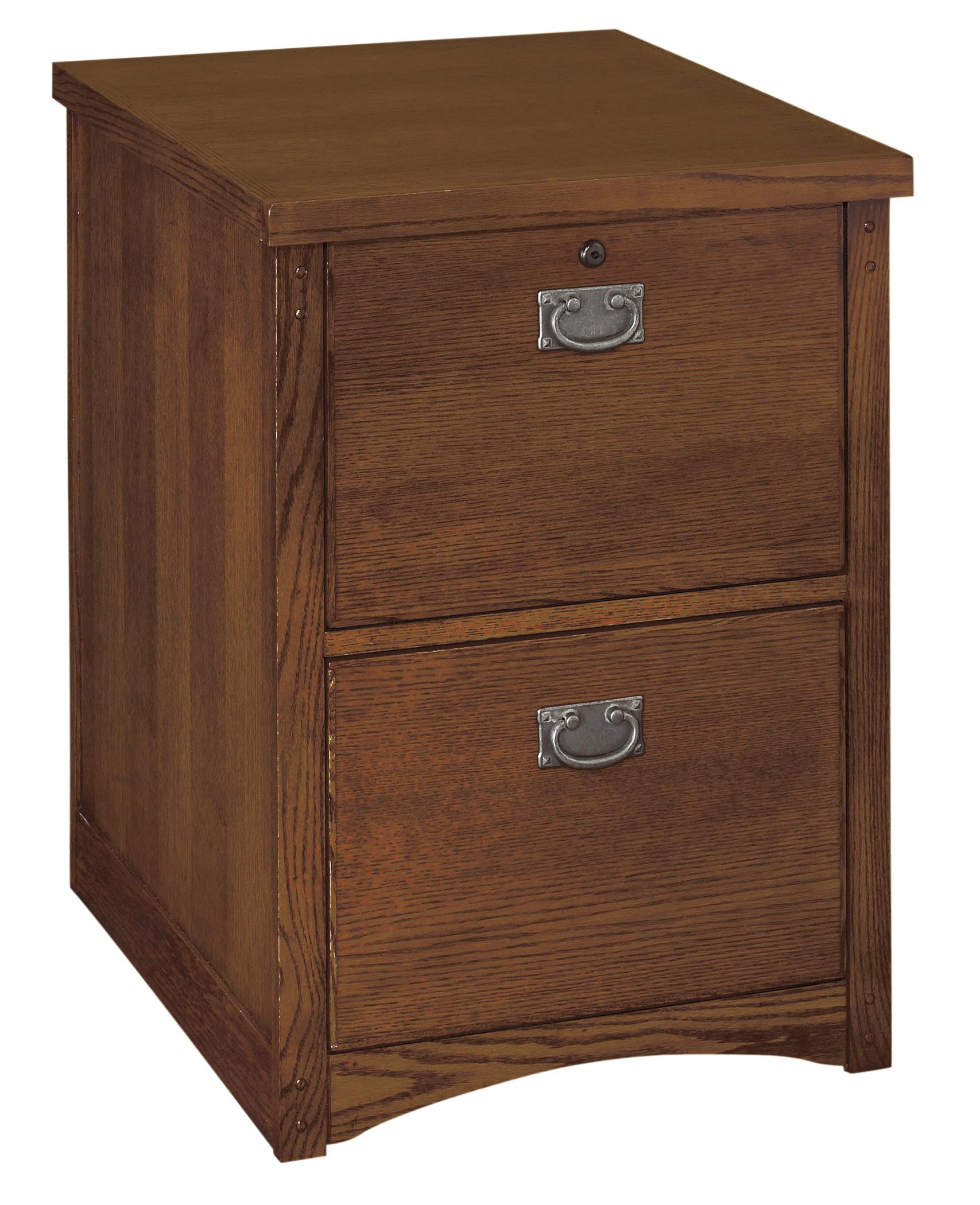 kathy ireland Home by Martin Mission Pasadena 2-Drawer File - Item Number: MP201