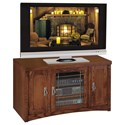 kathy ireland Home by Martin Mission Pasadena TV Stand - Item Number: MP360