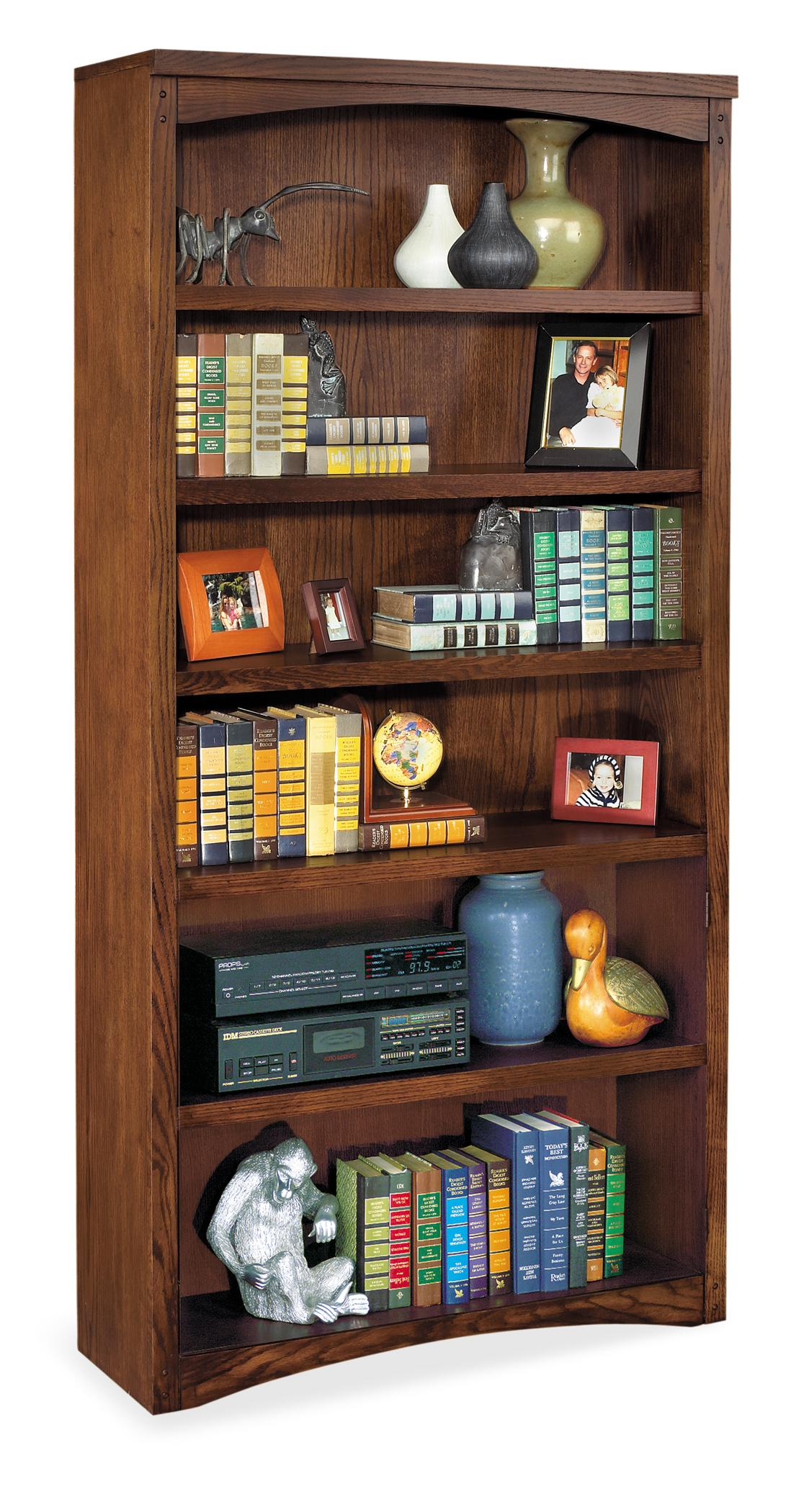 kathy ireland Home by Martin Mission Pasadena Open Bookcase - Item Number: MP3672