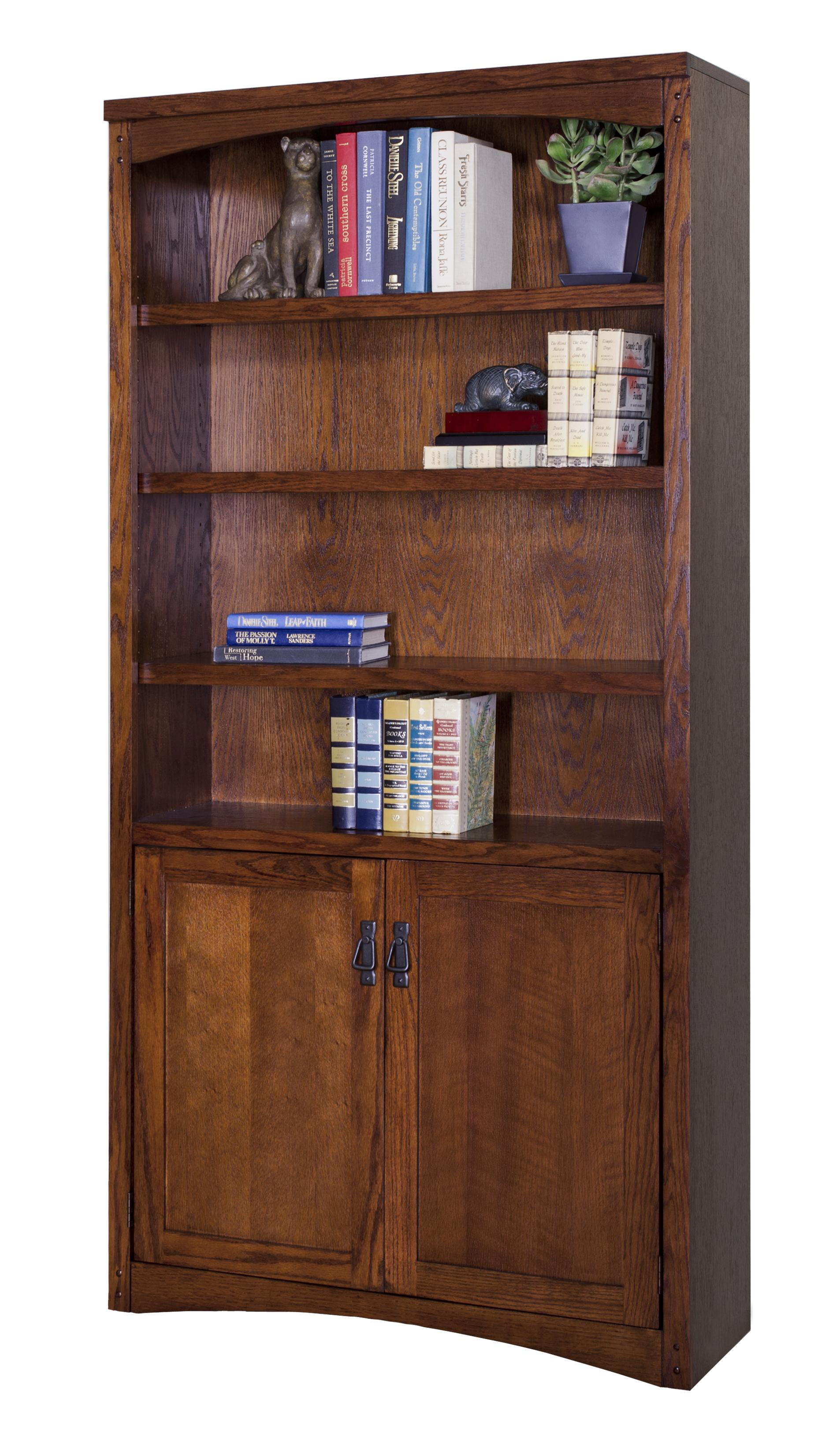 kathy ireland Home by Martin Mission Pasadena Lower Door Bookcase - Item Number: MP3672D