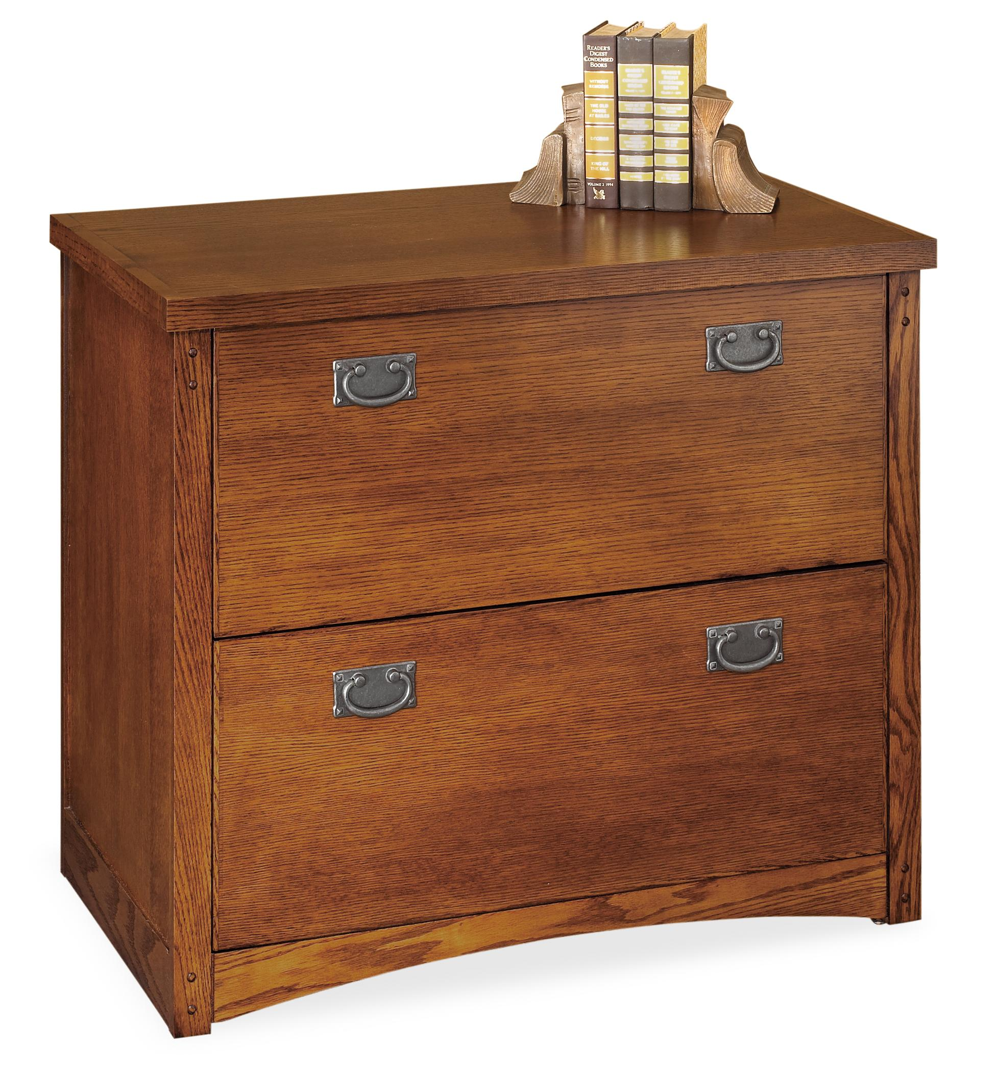 kathy ireland Home by Martin Mission Pasadena 2-Drawer Lateral File - Item Number: MP450