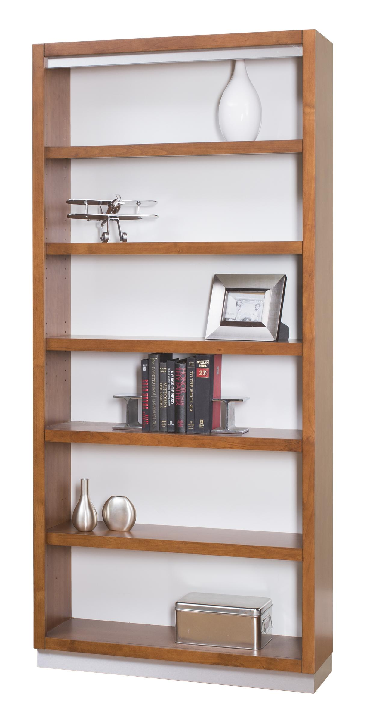 kathy ireland Home by Martin Monterey Open Bookcase - Item Number: MT3678
