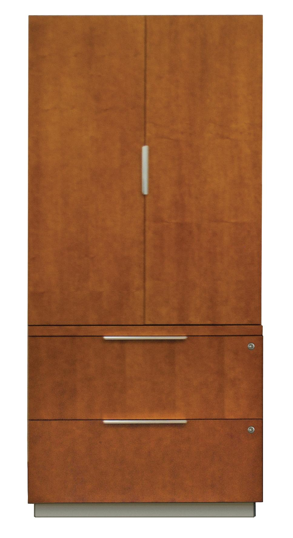 kathy ireland Home by Martin Monterey Lateral File and Wardrobe Combo - Item Number: MT450-314