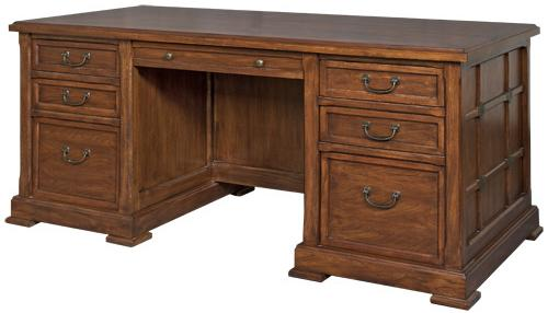 kathy ireland Home by Martin Portland Loft Executive Desk - Item Number: IMPL680