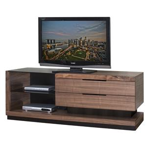 Martin Home Furnishings Stratus-Walnut Large Television Console