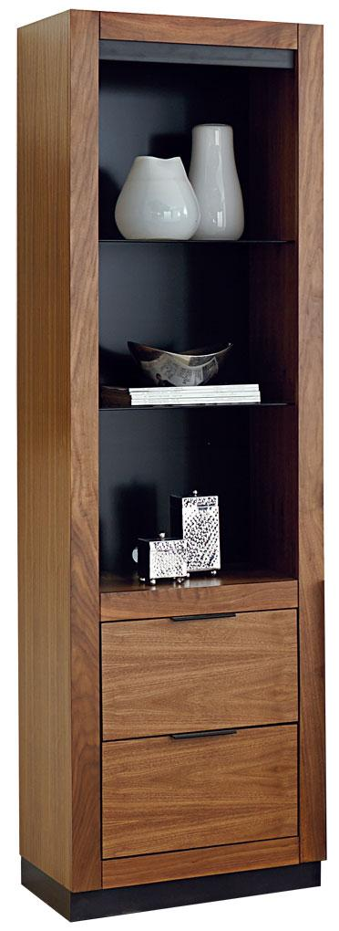 Martin Home Furnishings Stratus-Walnut Pier with Drawers - Item Number: SS970DR