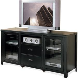 kathy ireland Home by Martin Tribeca Loft Tall Console for Flat Panel Television