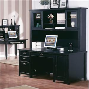 kathy ireland Home by Martin Tribeca Loft Desk & Hutch