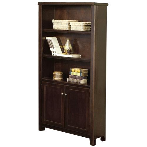 kathy ireland Home by Martin Tribeca Loft Lower Door Bookcase - Item Number: TLC3670D