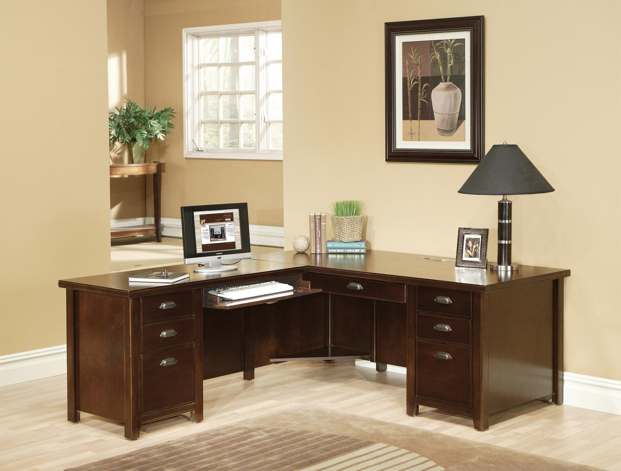 kathy ireland Home by Martin Tribeca Loft L-Shaped Desk with Left Hand Facing Return - Item Number: TLC684L+TLC684L-R