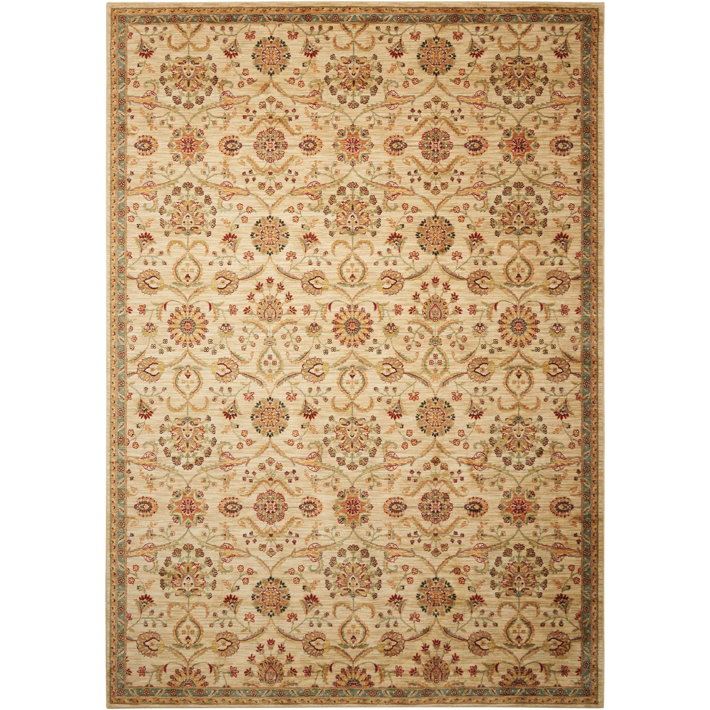 """Ancient Times 5'3"""" x 7'5"""" Rug by kathy ireland Home by Nourison at Home Collections Furniture"""