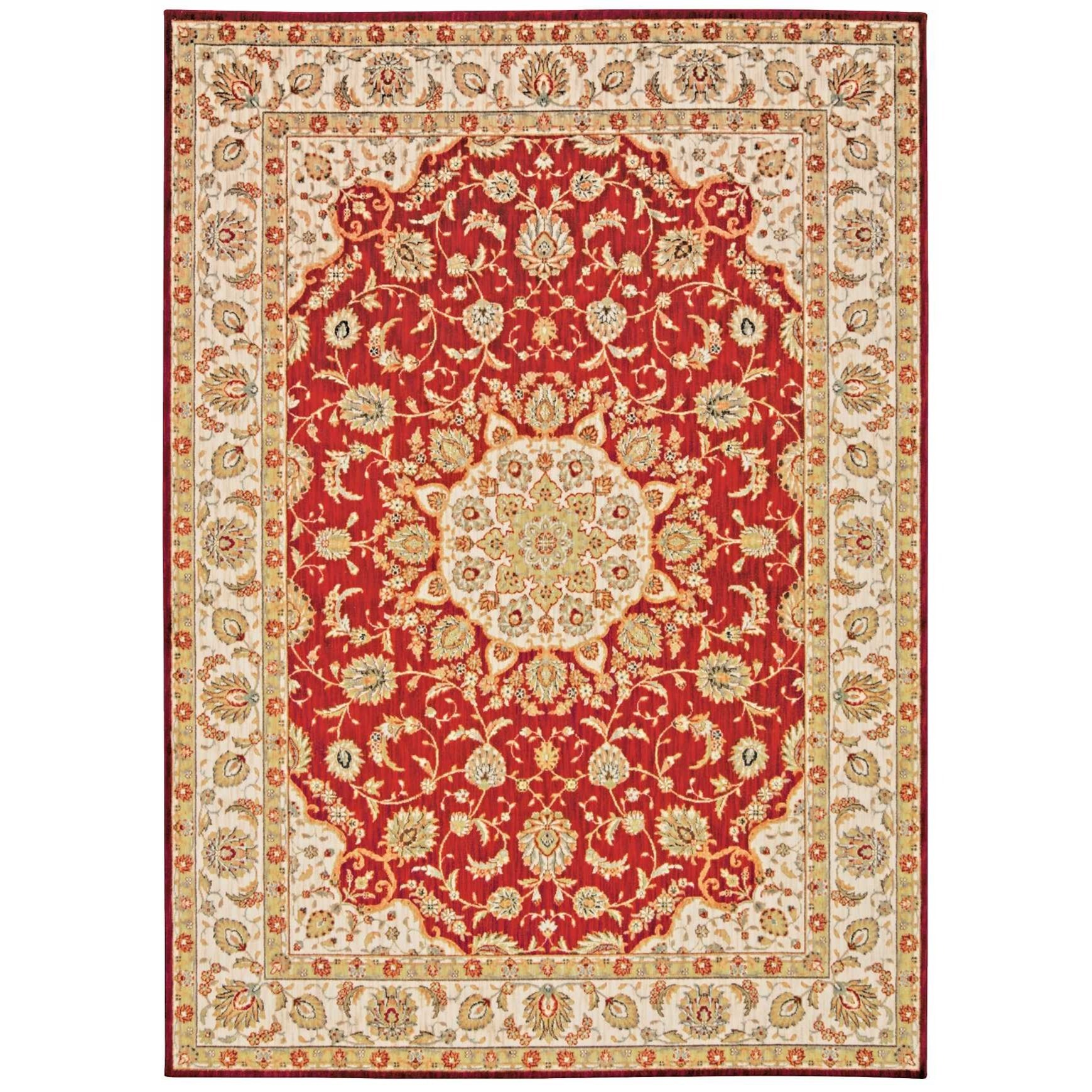 "Ancient Times 3'9"" x 5'9"" Rug by kathy ireland Home by Nourison at Home Collections Furniture"