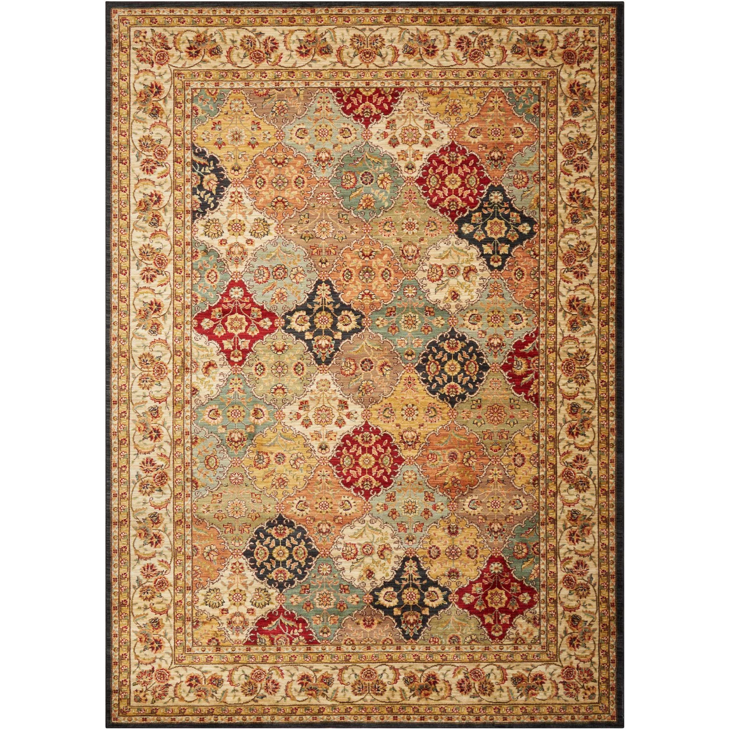 "Ancient Times 7'9"" x 10'10"" Rug by kathy ireland Home by Nourison at Home Collections Furniture"