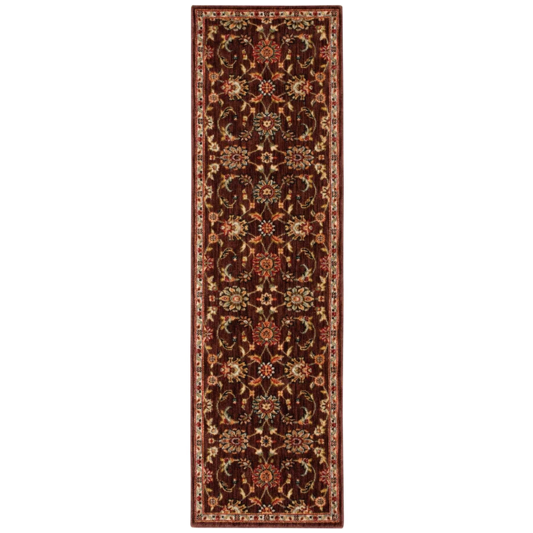 """Ancient Times 2'2"""" x 7'6"""" Rug by kathy ireland Home by Nourison at Home Collections Furniture"""