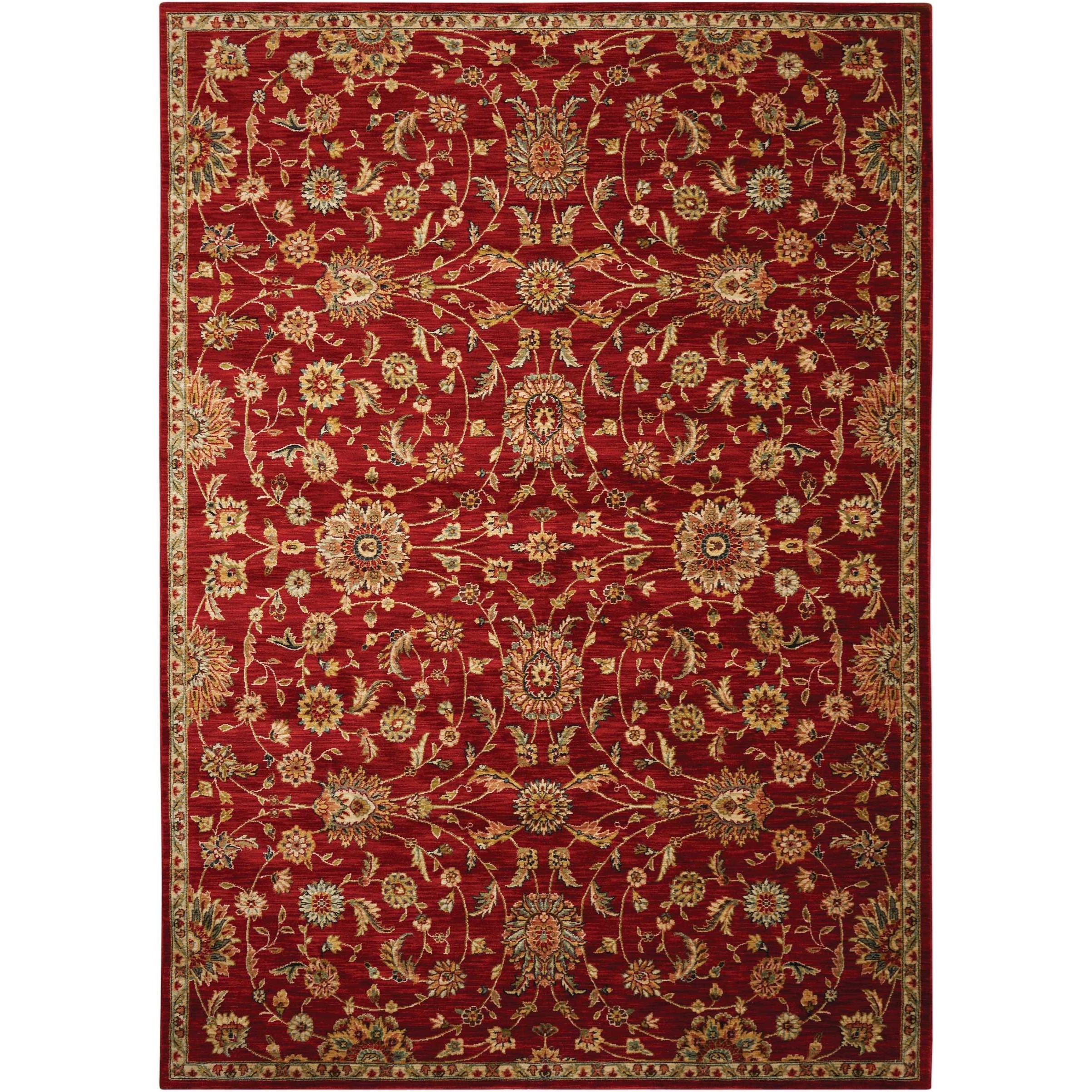 """Ancient Times 7'9"""" x 10'10"""" Rug by kathy ireland Home by Nourison at Home Collections Furniture"""