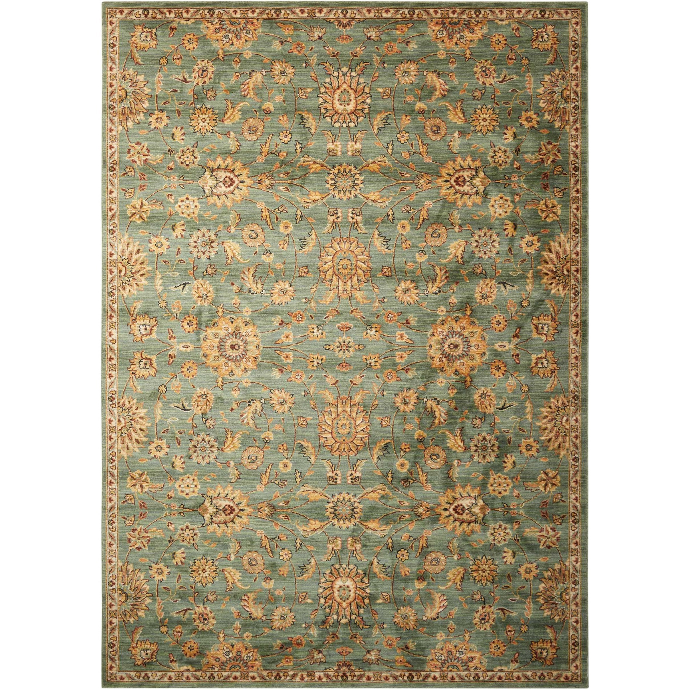"""Ancient Times 3'9"""" x 5'9"""" Rug by kathy ireland Home by Nourison at Home Collections Furniture"""