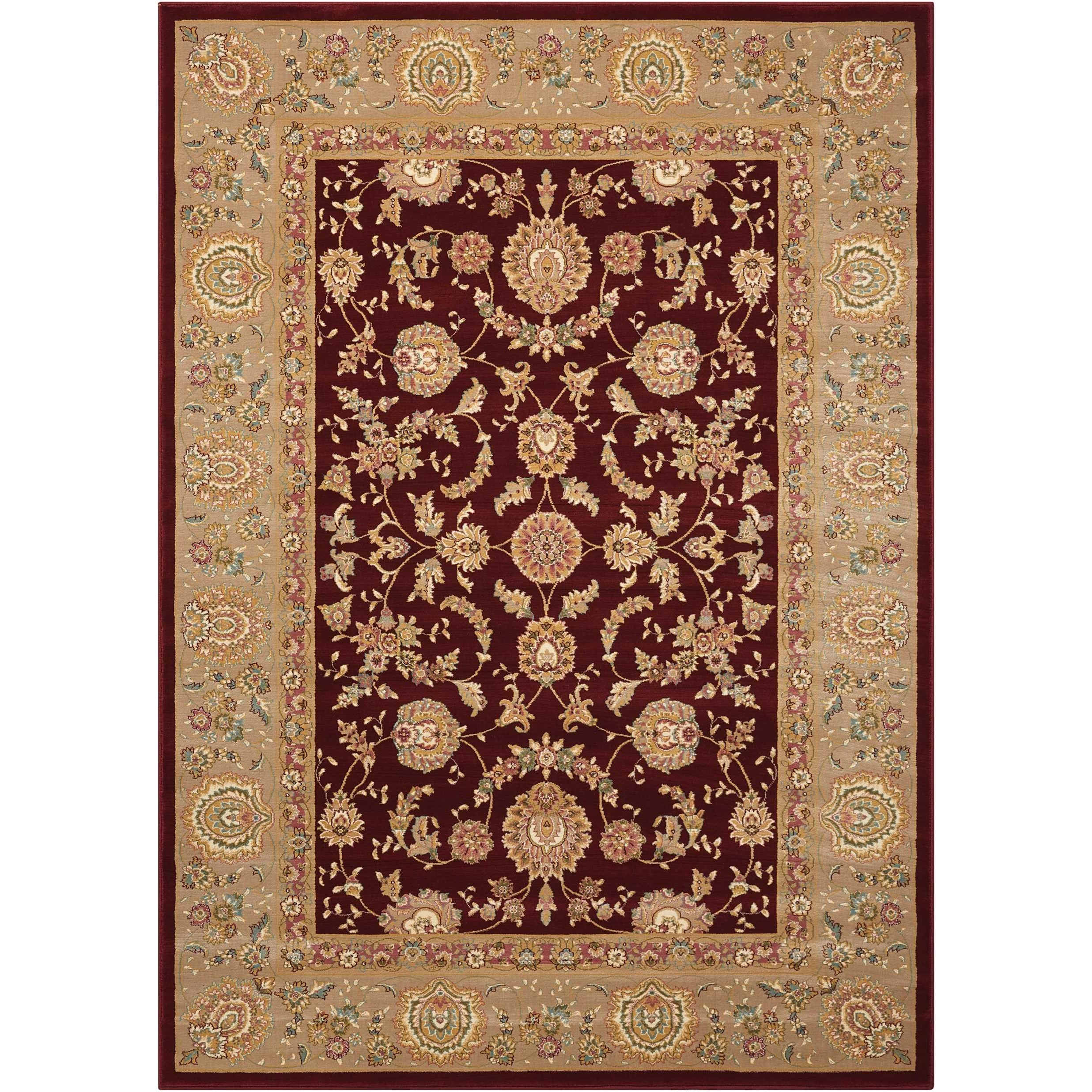 "Antiquities 3'9"" x 5'9"" Rug by kathy ireland Home by Nourison at Home Collections Furniture"