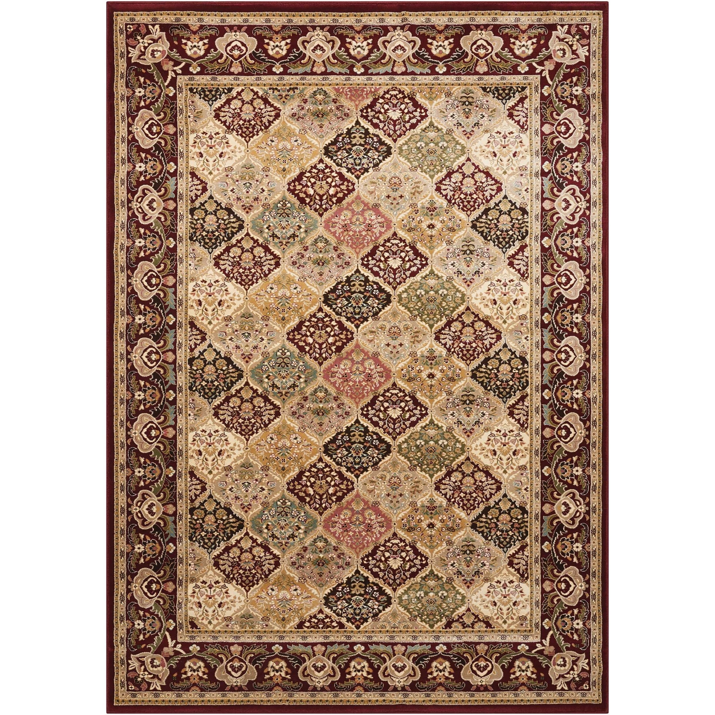 "Antiquities 9'10"" x 13'2"" Rug by kathy ireland Home by Nourison at Home Collections Furniture"
