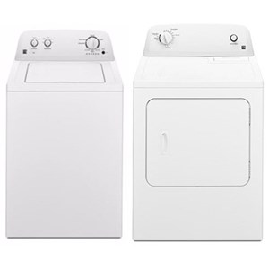 House Brand Washer and Dryer Sets 3.8 Cu. Ft. HE Washer and 6.5 Cu. Ft. Dryer
