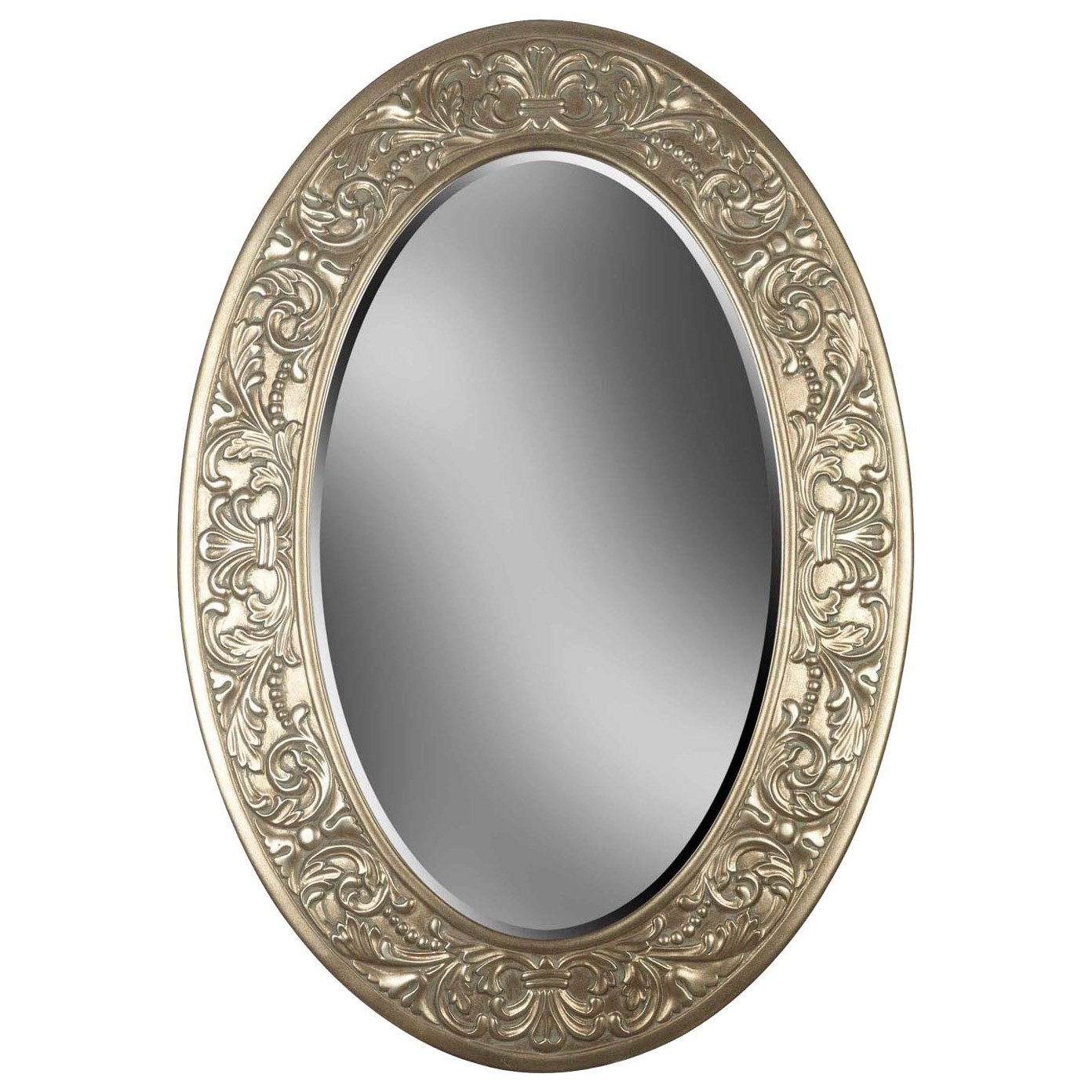 Accents Argento Wall Mirror by Kenroy Home at Simply Home by Lindy's