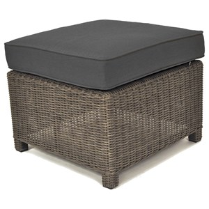 Palma Contemporary Lounge Ottoman with Cushion by Kettler