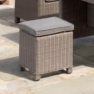 Palma Contemporary Outdoor Stool with Cushion by Kettler